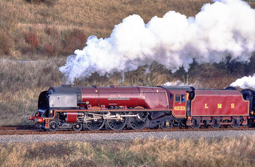 Lms 6233 Duchess Of Sutherland Saved From The Bin A