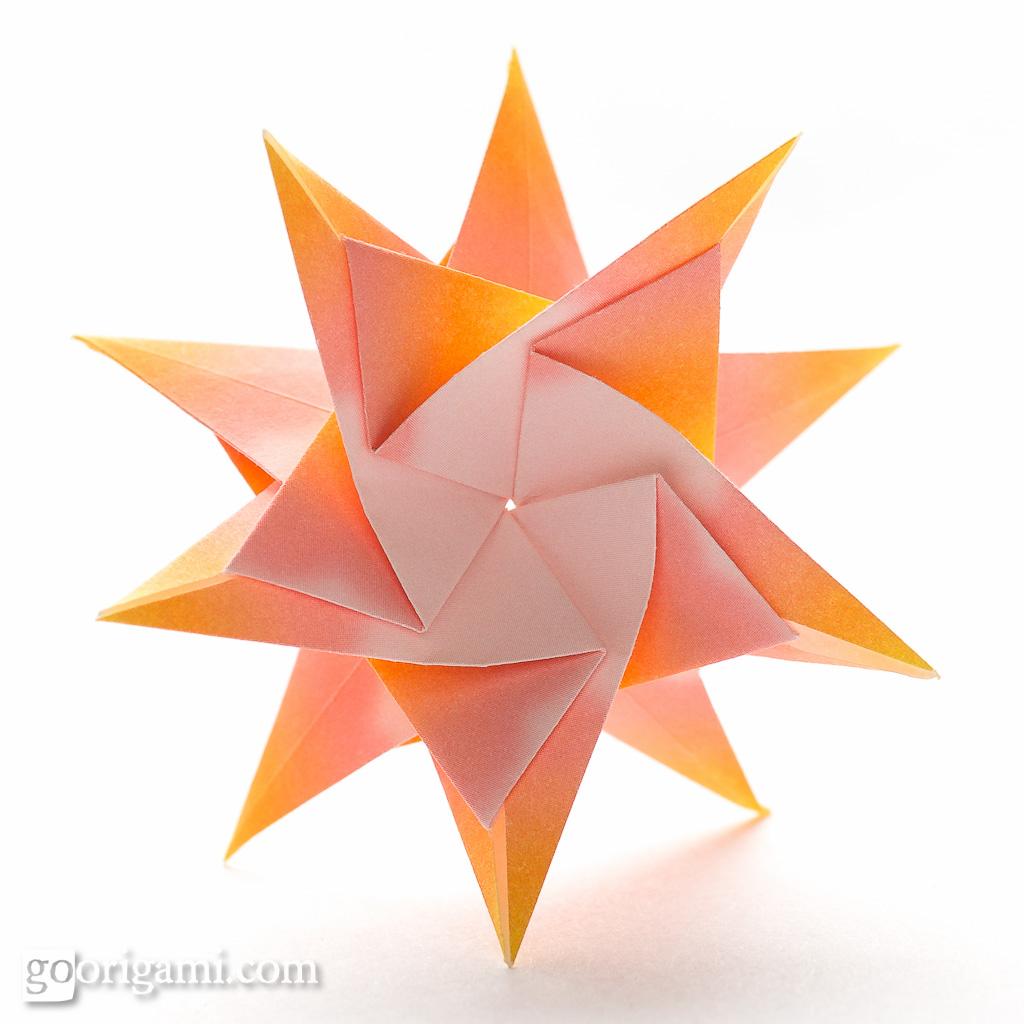 Modular Origami Star   Modular Origami Star (Maria ... - photo#13