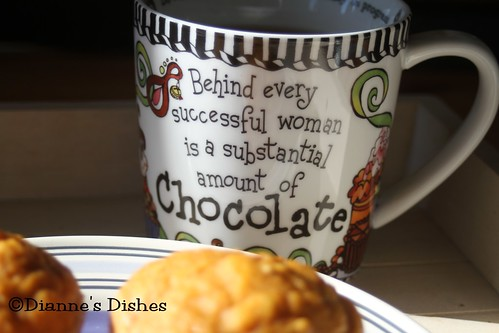 Perfect Pumpkin Muffins: Women and Chocolate | by Dianne's Dishes