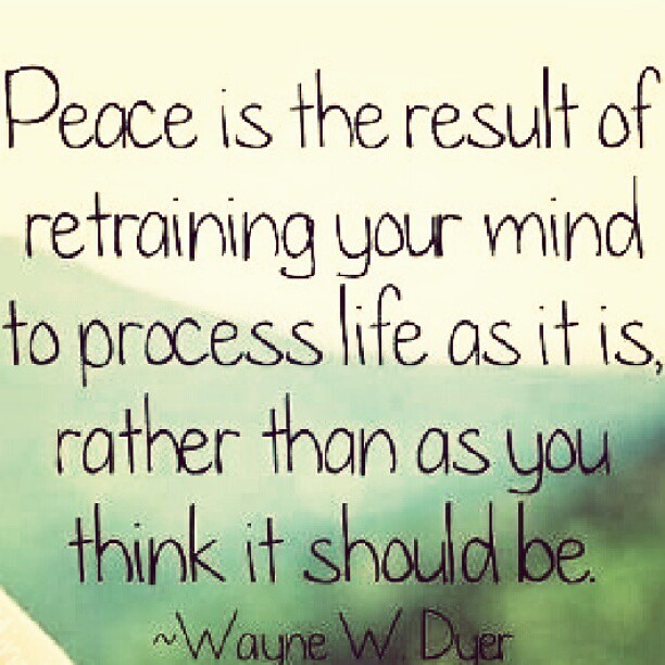 What is peace??? #quote #peace #mind #life #believe #insta…  Flickr