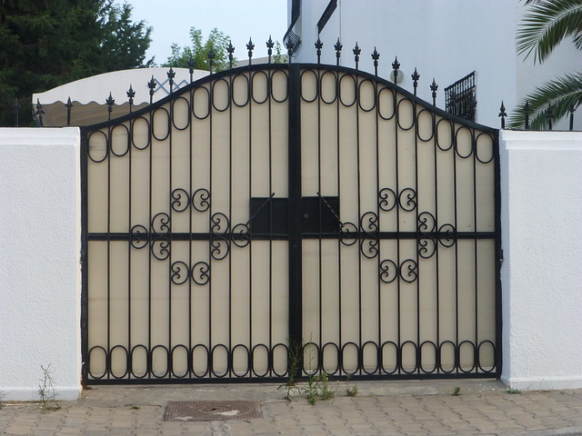 Flickr photo sharing - Porte en fer forge exterieur ...