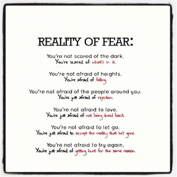 ... Of #fear #scared #dark #afraid #falling #people #