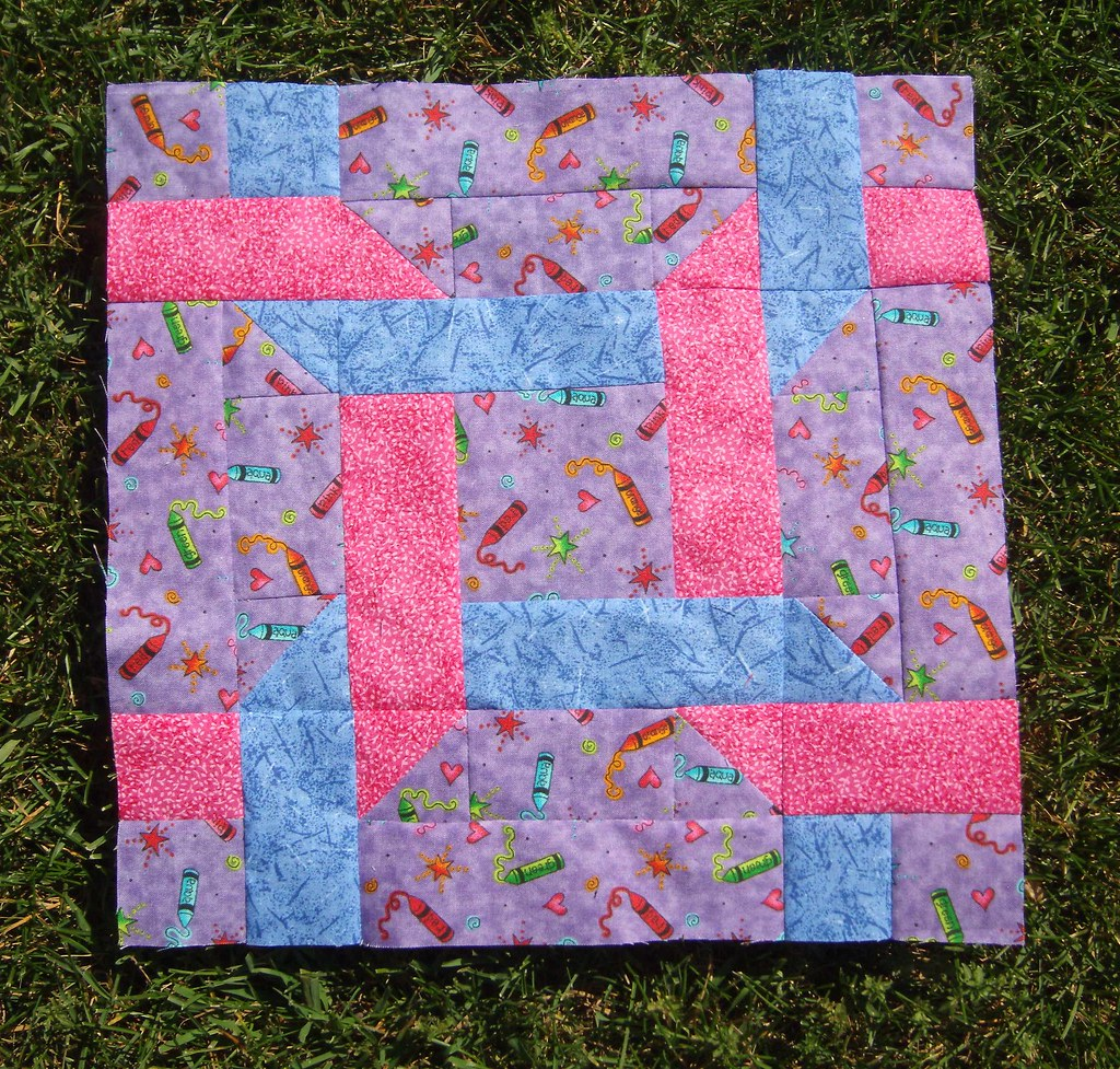 Knotted Rings Quilt Block Pastel Quilt Magazine 39 S