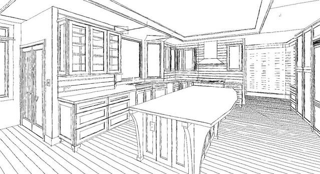 Pencil Drawing - Kitchen | Flickr - Photo Sharing!