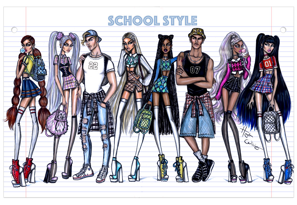 Schoolstyle Collection By Hayden Williams Back To
