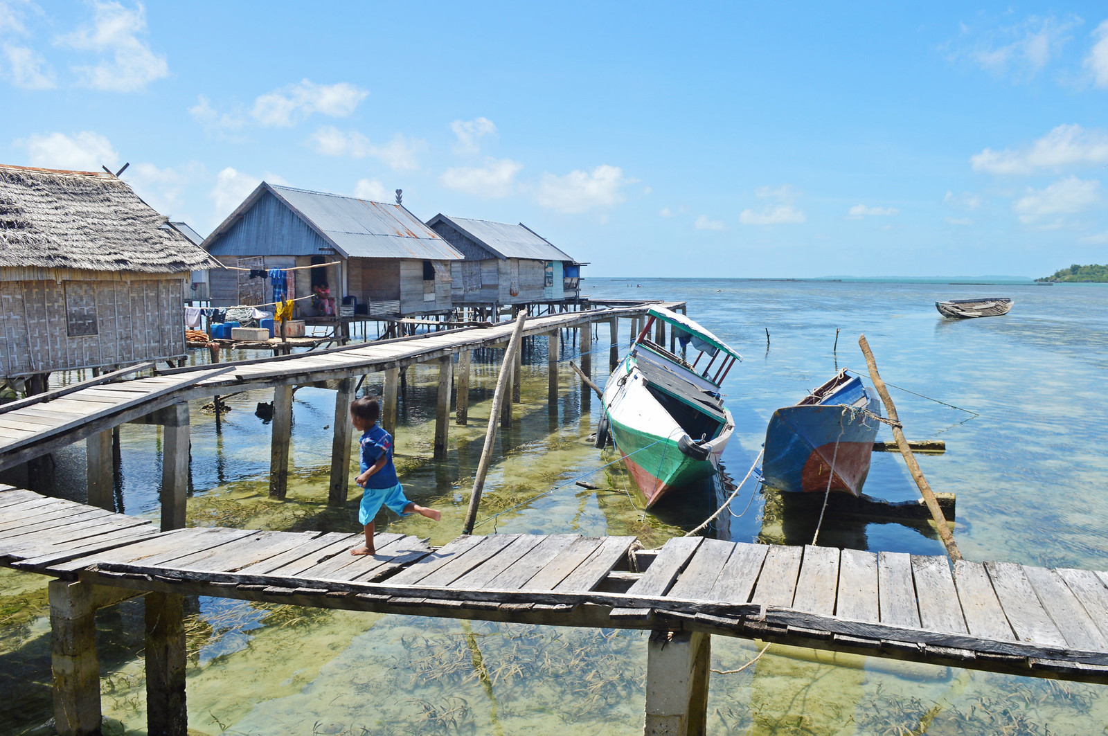 Bajo Village in Wakatobi.