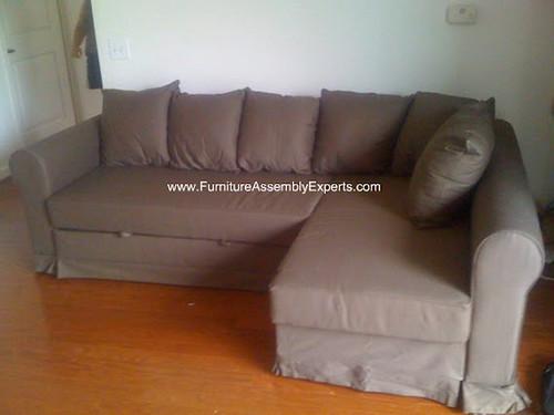 Ikea moheda sofa bed assembly service in washington dc for Ikea arlington va