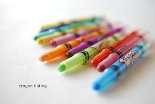 Crayon Tinting | by wildolive