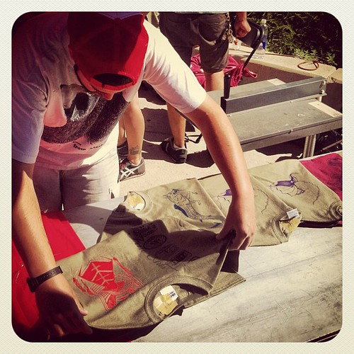 Create your own t-shirt at the #UofU #ArtsFest, today 'til 2p on Library Plaza! | by The University of Utah