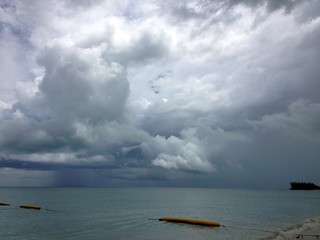 Rainy Skies Around Passion Island, Cozumel, Mexico (8-28-12) | by 54StorminWillyGJ54