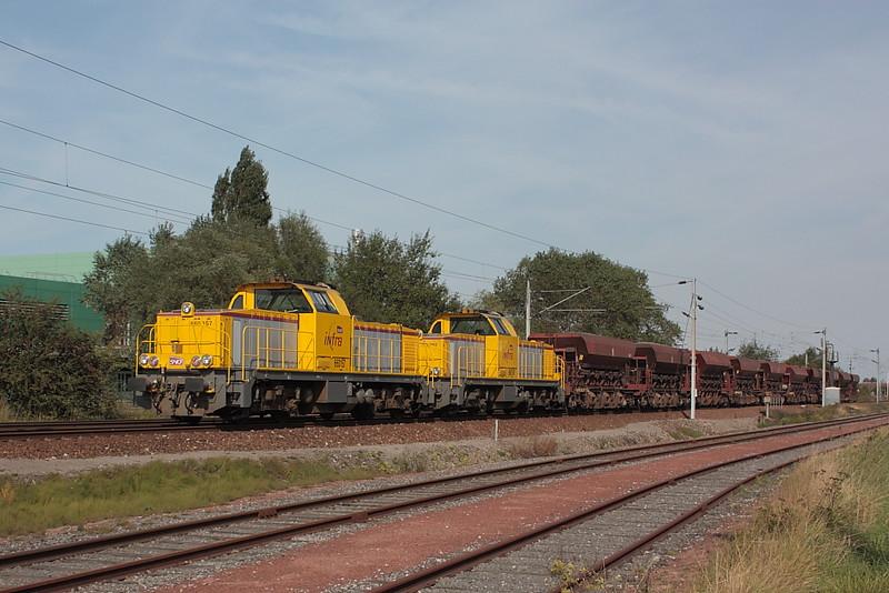 Vossloh 2457 - GA 1000 AS - BB 660157 + Vossloh 2460 - GA 1000 AS - BB 660160 / Dunkerque