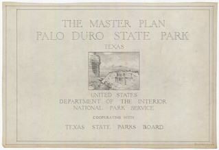 Palo Duro Canyon State Park - Master Plan - SP.14.1 | by Texas State Archives