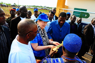 Helen Clark's visit to Benin, 2012 | by United Nations Development Programme