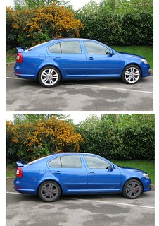 Not a limited edition Skoda Octavia vRS Blackline | by davekpcv