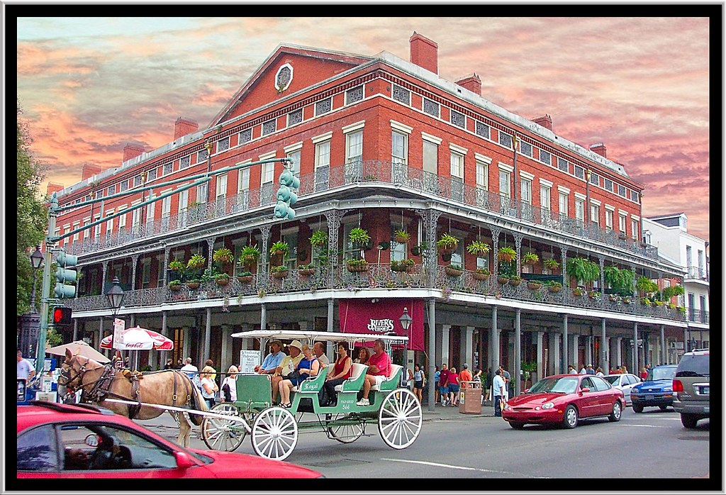New Orleans La Pontalba Buildings Historic The
