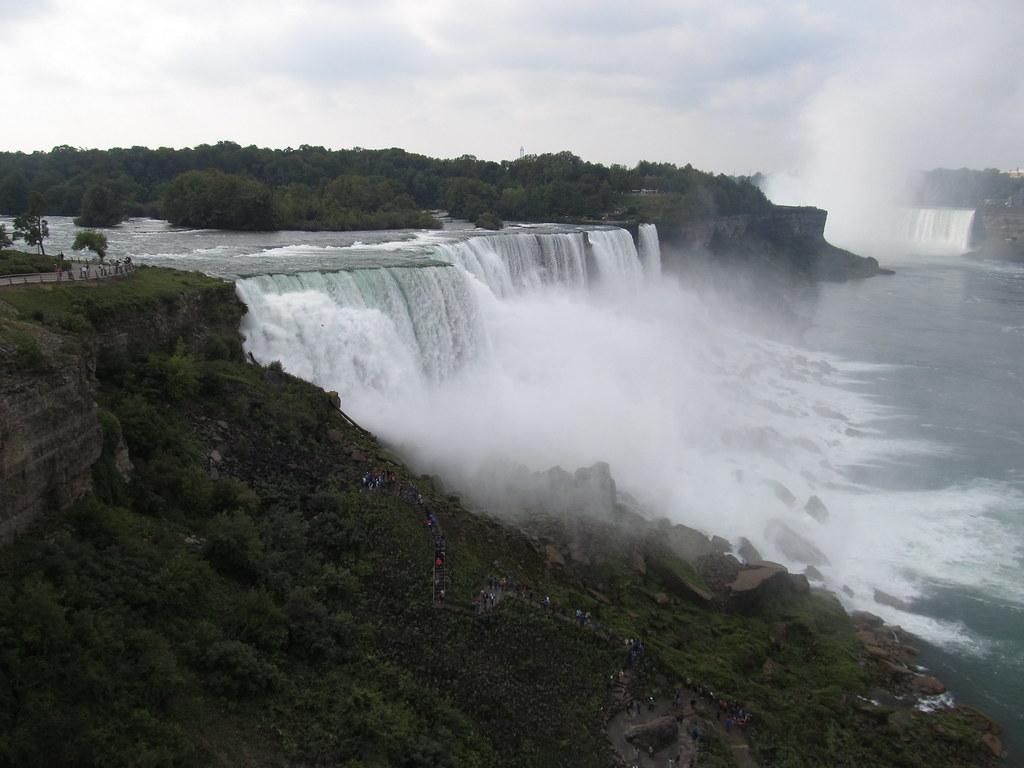 American Falls Niagara Falls New York The American