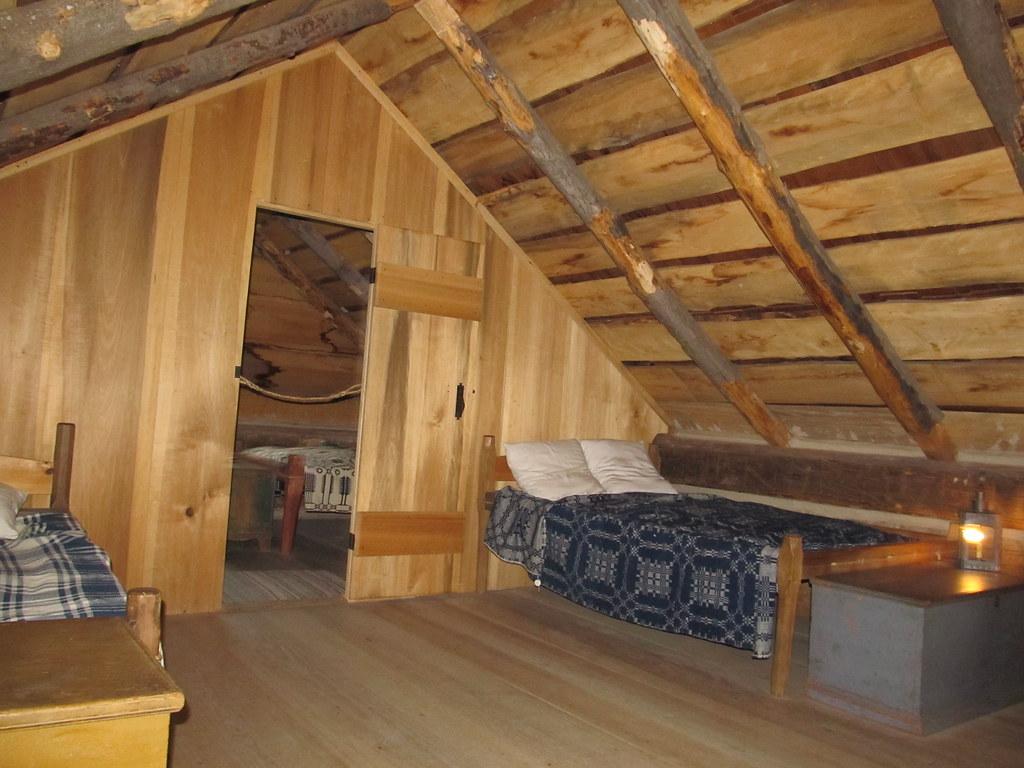 Loft Reconstructed Joseph Smith Log Home Smith Family Fa