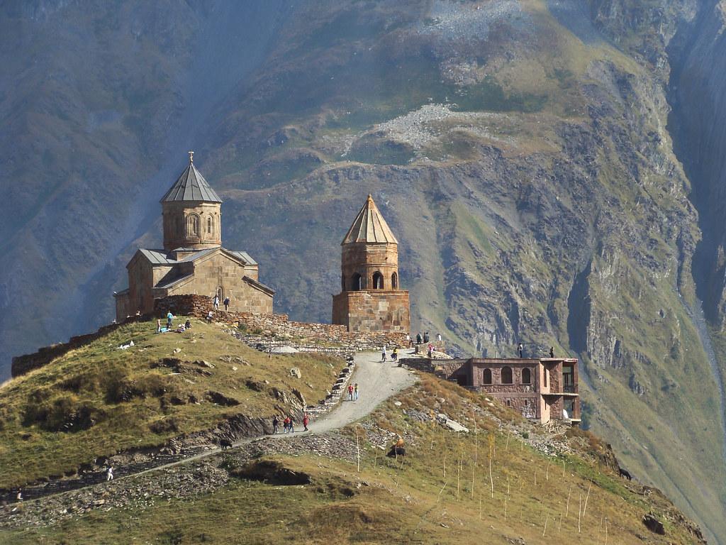 Georgian Legend - Gergeti Trinity Church