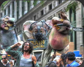 Occupy Wall Street Anniversary HDR image- Sept 17th 2012 Zuccotti Park | by Inspirational Pics