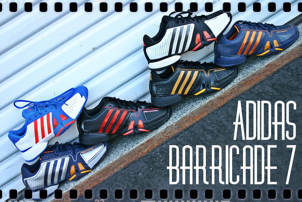 Adidas Barricade  Men S Tennis Shoe