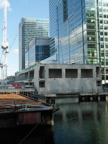 Canary Wharf Crossrail | by diamond geezer