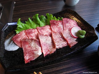 Beef Tongue at Maruchu | by deeeelish