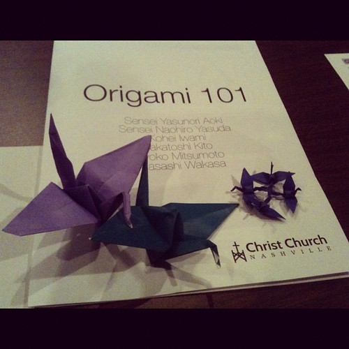 Japanese Origami Lessons by our Japanese friends | by GingerGE