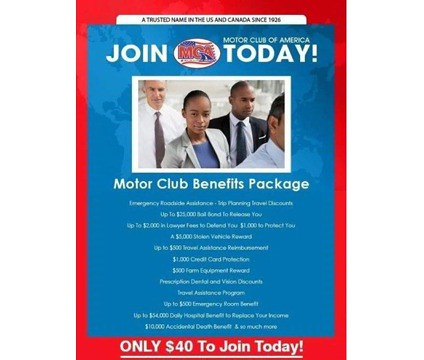 Mca benefits package jeholdings flickr Motor club of america careers