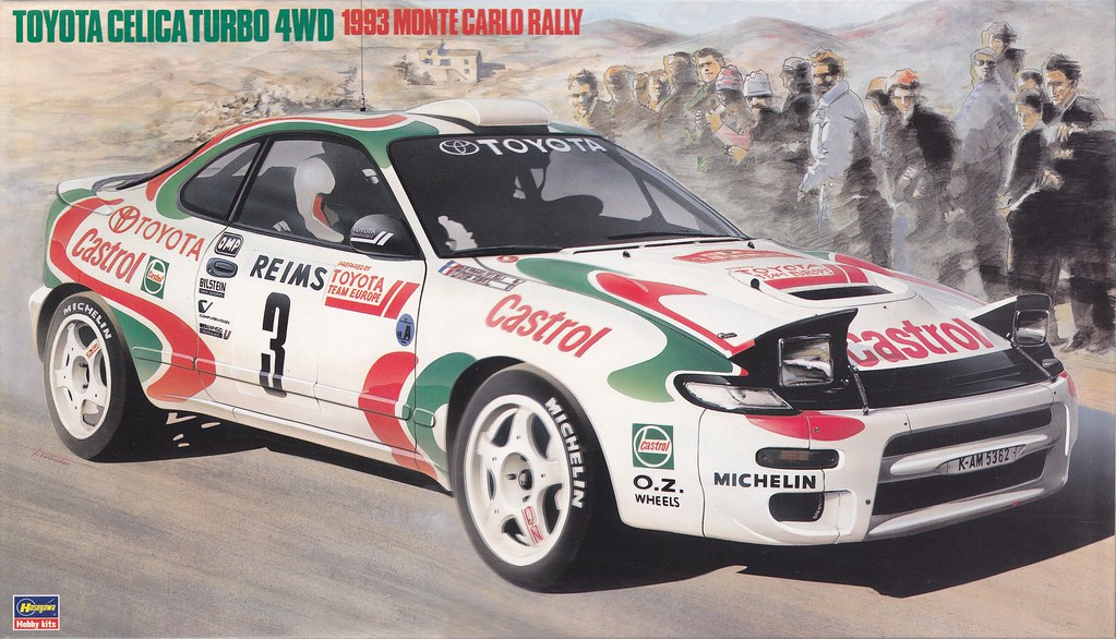 Monte Carlo New >> ST185 Toyota Celica GT-Four - 1993 Monte-Carlo | Hasegawa 25… | Flickr