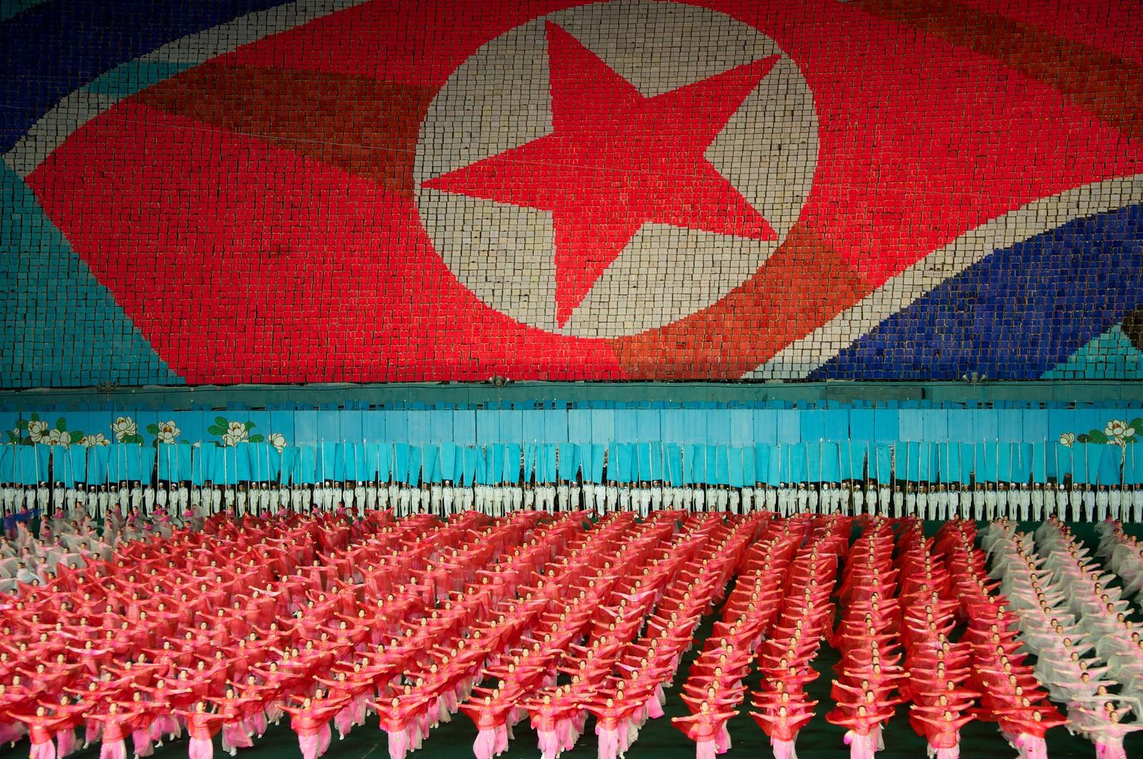 Arirang Mass Games, Pyongyang | by Stefan Schinning