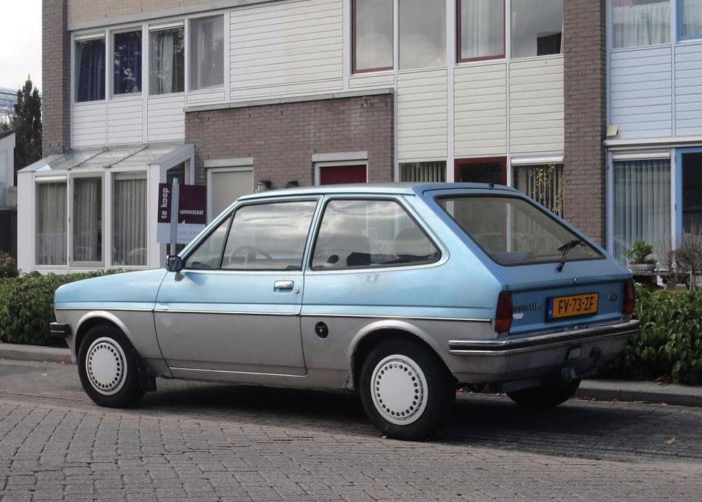 Ford Fiesta Mk L  Fv  Zf