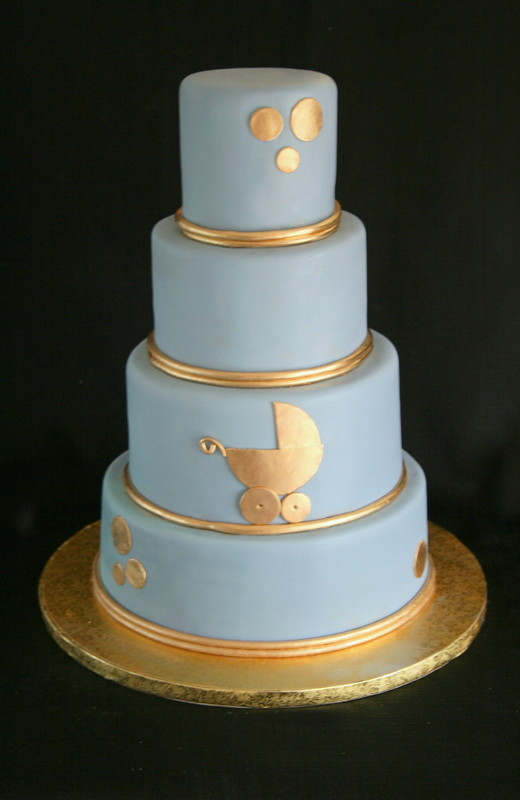 Baby Shower Cake Decal