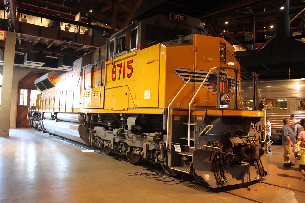 Union Pacific 8715 Emd Sd70ace In Sacramento Ca Flickr