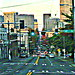 Impressionist Seattle:  Looking to Downtown Along Madison Street From 14th Avenue East