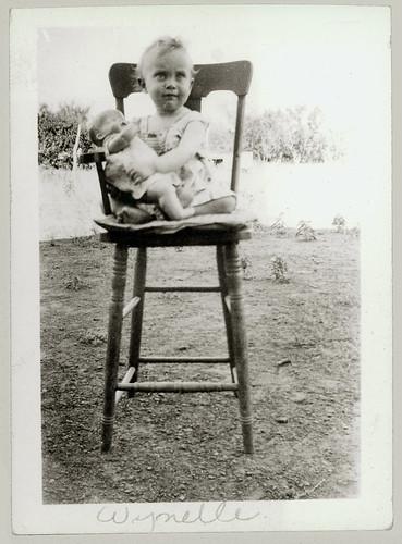 Child in Highchair