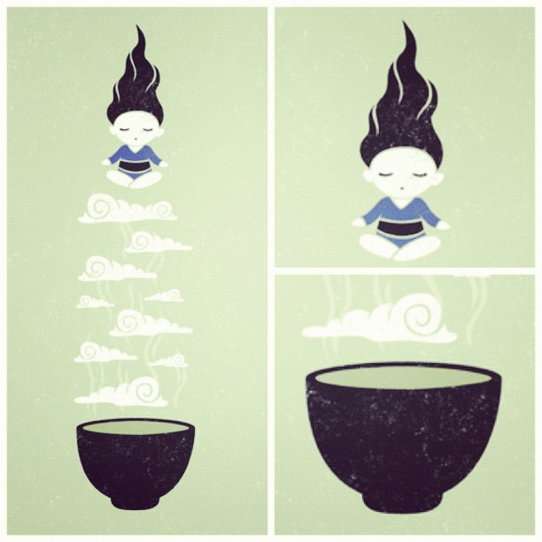 Chinese Zen Drawings Zen Tea Art Drawing