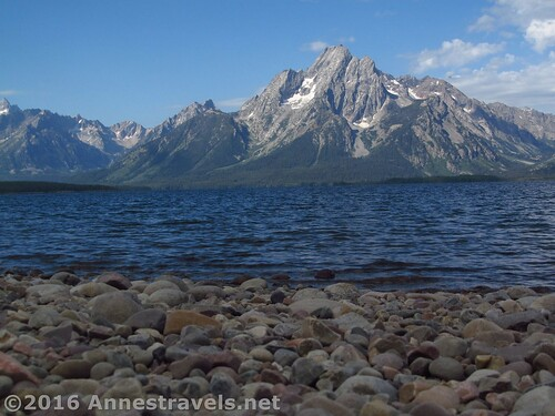 Mt. Moran from the Lakeside Trail, Grand Teton National Park, Wyoming