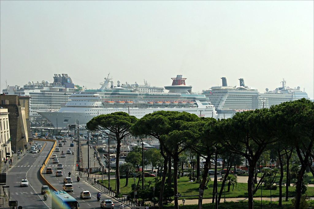 napoli stazione marittima norwegian epic sovereign celebr flickr