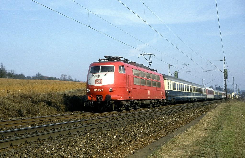 103 115 bei Ebersbach ( Fils ) 24.02.92