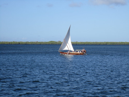 Lamu Island White sailing boat | by Pavel Polukhin
