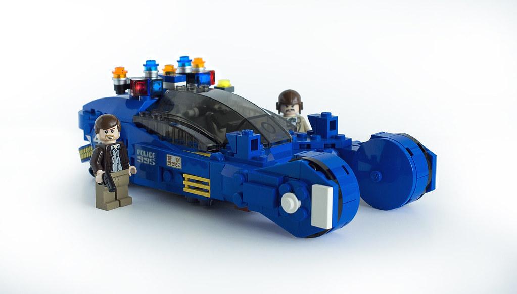 The police spinner from Blade Runner! : lego