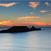 Worm's head Sunset