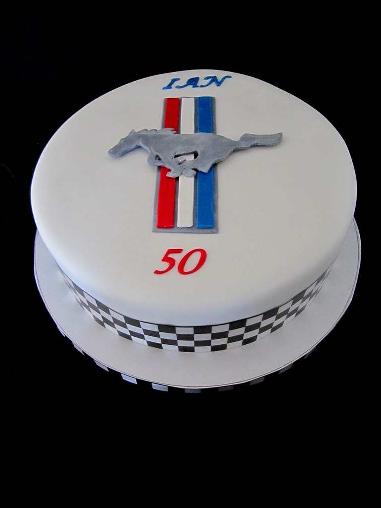 Ford Mustang Cakes Ford Mustang Logo Cake