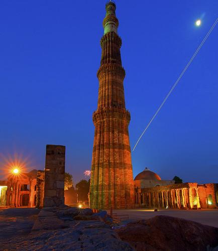 Cool Places For Couples In Delhi: Qutub Minar, Mehrauli, Delhi, India Qutub