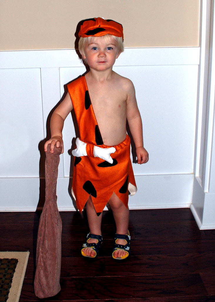 bam bam halloween costume by mootsie