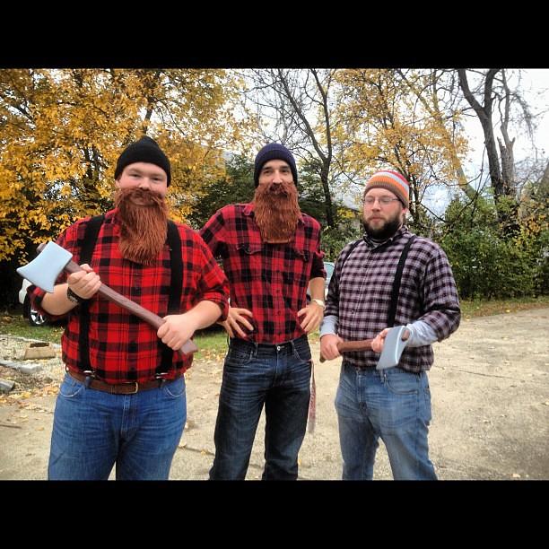 Lumberjacks Often Use Chainsaws To Fell Trees