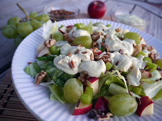 'Jalapeno Face' Spicy Waldorf Salad for Iron Chef (0031) | by smiteme