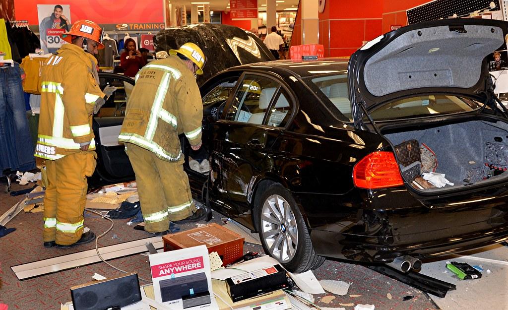 Car Crash Camera Target