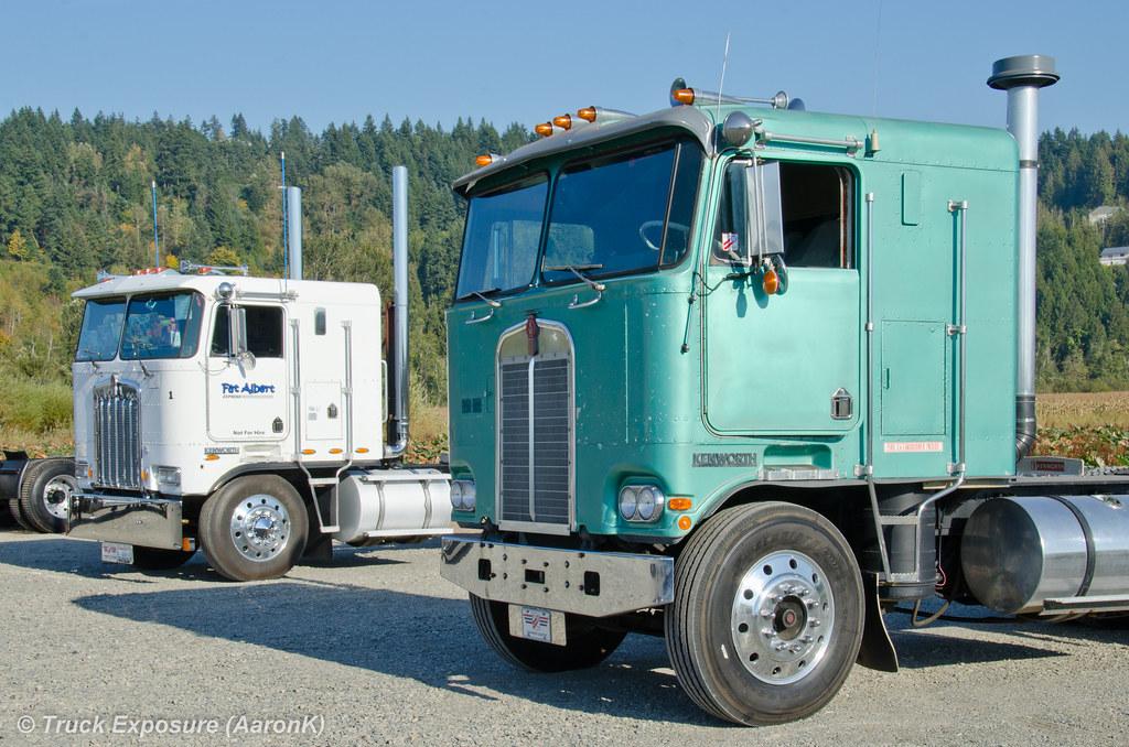 1989 Kenworth K100e  U0026 1975 K100c