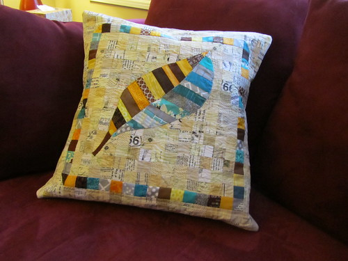 Finished MSM Swap Pillow | by A Quilting Jewel